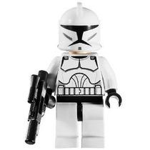 Lego Star Wars Minifigure - Clone Trooper Con Blaster Gun (c