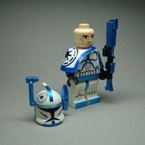 Custom Lego Clon Rex Arco Trooper Comandante De Mini Figura