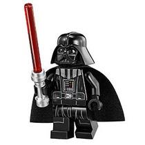 Lego Star Wars Minifigure - Darth Vader Con Tan Head & Red L