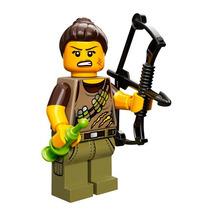Lego Serie 12 Cazadora Dino Tracker Legobricksrfun