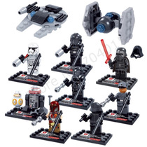 Lego Star Wars Episodio 7 Compatible, (2 Naves Extra)