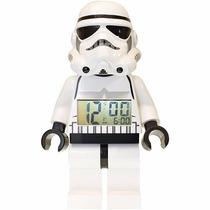 Lego Stormtrooper Reloj Despertador Star Wars Original Nuevo