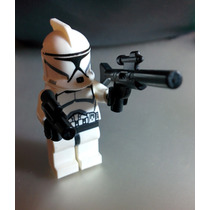 1 Mini Clone Trooper Star Wars Compatible Con Lego - Jedi