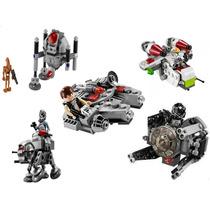 5 Microfighter, Star Wars, Millenium Falcon, Interceptor, At