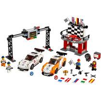 Lego Speed Champions 75912: Línea De Meta Del Porsche 911