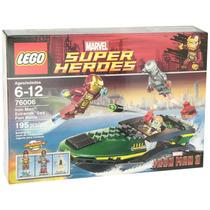 Lego Marvel Super Heroes Iron Man Modelo 76006