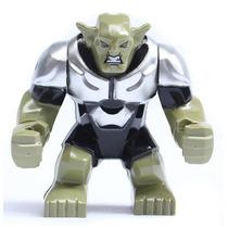 Figura Duende Verde Compatible Con Lego - 7.5 Cm