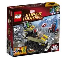 Lego Superheroes 76017 Captain America Vs Hydra