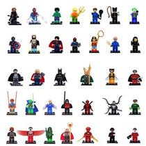 5 Figuras Super Heroes Marvel Dc