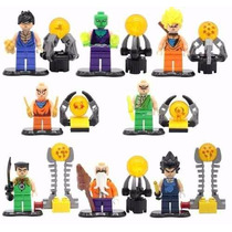 Set Dragon Ball De Lego 8 Diferentes Figuras