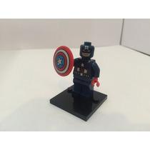 Capitan America 2 Avengers Marvel Compatible Lego