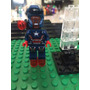 Marvel Iron Patriot Avengers Compatible Lego