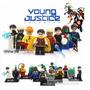 Increible Set Young Justice Compatibles Con Figuras Lego