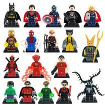 13 Figuras Super Heroes Marvel Dc