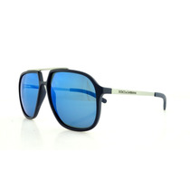 Dolce & Gabbana Gafas De Sol Dg 6088 265055 Azul Caucho 59mm
