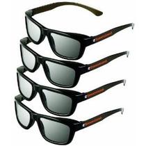 Ed Paquete De 4 Cinema 3d Gafas Para Televisores Lg 3d - Cir