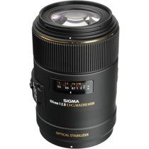 Sigma Lente 105mm F/2.8 Ex Dg Os Hsm Macro Para Nikon
