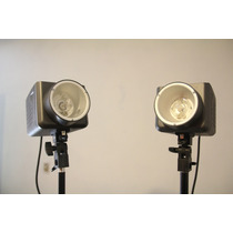 (2) Flash Estrobos Iluminacion 600 W Estudio Fotografico Pro