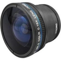 Zeikos .18x Hd Super Fisheye Ojo De Pez 52mm 58mm Hm4