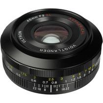 Lente Voigtlander 40mm F/2.0 Ultron Sl Ii Aspherical Canon