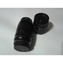 Lente Descompuesto Canon Camara Zoom Gran Agunlar Utrasonido