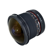 Nuevo Lente Ojo Pez Samyang Syhd8m-c 8mm F/3.5 Hd Canon Hm4