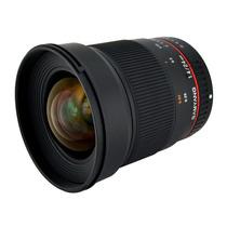 Lente Gran Angular Samyang Sy24m-c 24mm F/1.4 Para Nikon Hm4