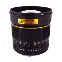 Nuevo Lente Retrato Samyang 85mm F1.4 P/ Olympus M 4/3 Hm4