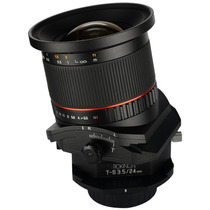 Lente Tilt Shift Rokinon Tsl24m-c 24mm F/3.5 Para Canon