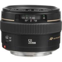 Lente Canon Ef 50mm F/1.4 Usm Compatible Con Reflex Eos
