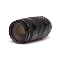 Lente Canon Ef 75-300 Mm F 4-5.6 Iii Para Camara Eos +b+
