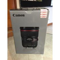 Canon Lente Ef 24-70 Mm F/2.8 L Ii Usm Nuevo!!! Msi