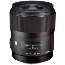 Ituxs I Lente Sigma 35mm F1.4 Dg Hsm Nuevo Envio Gratis