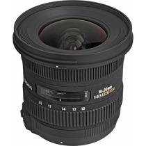 Sigma Lente 10-20mm F/3.5 Ex Dc Hsm Para Nikon