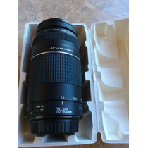 Lente 75-300mm F4-5.6 Canon