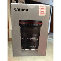 Canon Lente Ef 16-35 Mm F/2.8l Ii Usm Nuevo!!!