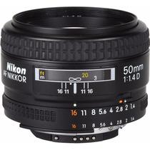 Lente Nikon 50 Mm 1.4 D