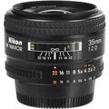 Lente Nikon 35mm F/2d Af Wide-angle Nikkor Gran Angular Op4