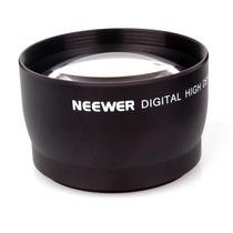 Lente Telefoto 2x 55mm Sony, Canon, Nikon Profesional Hm4