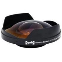 Lente Ojo De Pez 0.3x Fisheye 72mm P/ Video Camara Hd Mn4