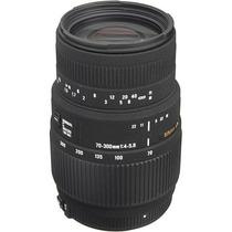 Sigma Lente 70-300mm F/4-5.6 Dg Macro Para Nikon