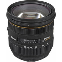 Sigma Lente 24-70mm F/2.8 If Ex Dg Hsm Para Nikon