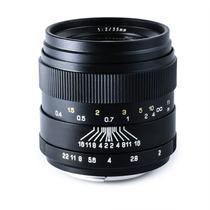 Lente Gran Angular Full Frame Oshiro 35mm F/2.0 Ld Unc Canon