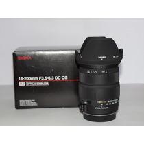 Objetivo 18-200 Para Canon En Perfectas Condiciones