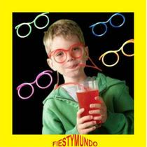 10 Lentes Popote Fiesta Boda Dj Xv Batucada Bar Bebidas