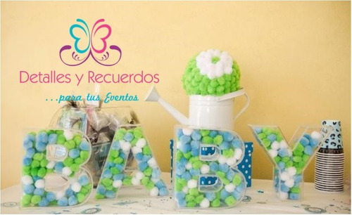 Letras Acrilico Decoracion Evento Fiestas Baby Shower 30 Cm ...