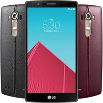 Celular Lg G4 32gb Desbloqueado + Tapa De Piel Rojo Y Negro