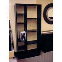 Librero, Separador Decorativo Mod. Ontario Minimalista
