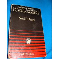 Libro Kabbala, Tarot,mescalito,castañeda Y La Magia Moderna,