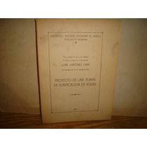 Proyecto De Una Planta De Purificación De Aguas - 1939